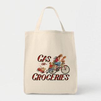 Gas-oder Lebensmittelgeschäft-Taschen-Tasche Einkaufstasche