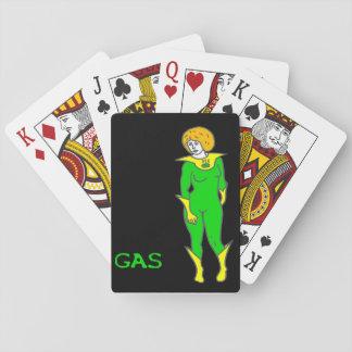 Gas-Spielkarten Spielkarten