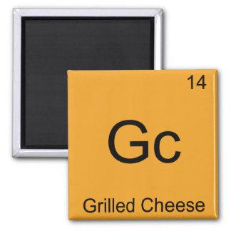Gaschromatographie - gegrilltes Käse-lustiges Chem Kühlschrankmagnet
