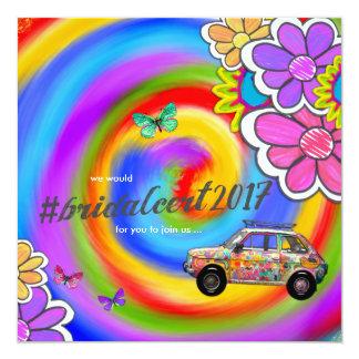 GASCHROMATOGRAPHIE Hippy gefärbte Krawatte laden Karte