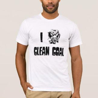 Gasmask, I, saubere Kohle T-Shirt