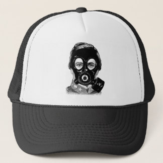 Gasmask Man Truckerkappe