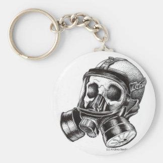 GasMask Schlüsselanhänger