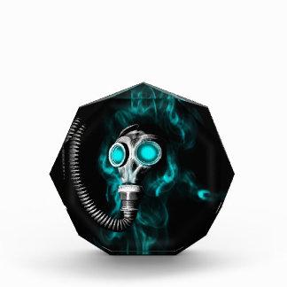 Gasmaske Acryl Auszeichnung