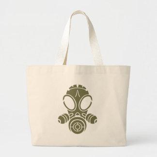 Gasmaske-Od-Grün Einkaufstasche
