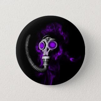 Gasmaske Runder Button 5,1 Cm