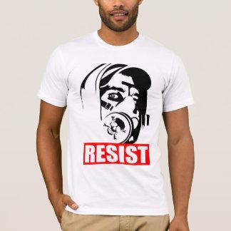 Gasmaske widerstehen T-Shirt