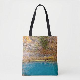 Gassen-Blau-Frühling Tasche