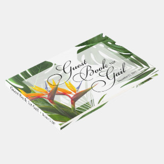 Gast-Buch für Gail - tropisches Blätter Gästebuch