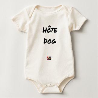 GASTGEBER DOG - Wortspiele - Francois Ville Baby Strampler