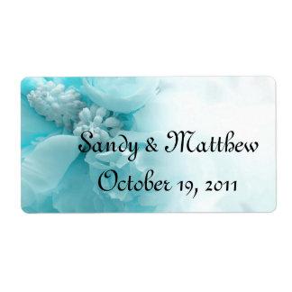 Gastgeschenk Hochzeits-Aufkleber