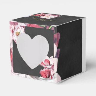 Gastgeschenk Hochzeits-Kasten-modernes Vintages Geschenkschachtel