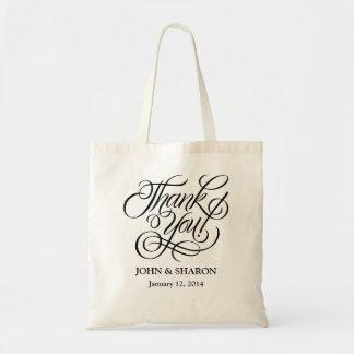 Gastgeschenk Hochzeits-Tasche - danke Budget Stoffbeutel