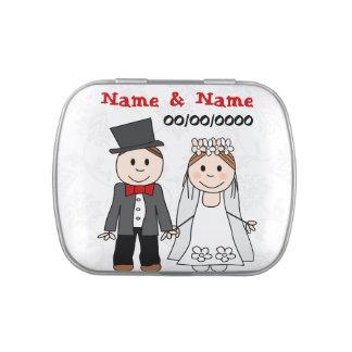 Gastgeschenke Hochzeit, rettet tha Datum Vorratsdose