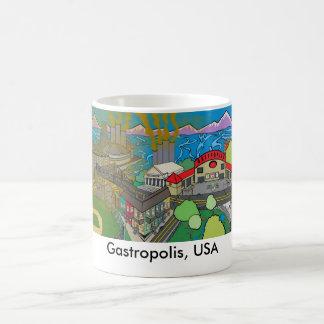 Gastropolis, USA Kaffeetasse