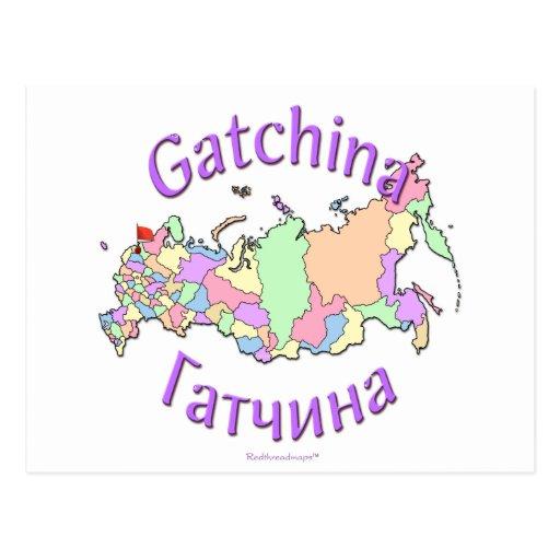 Gatchina Russland Postkarten