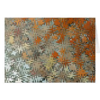 Gaudi Mozaic Abstraktion Karte