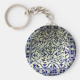 Gaudis Park Guell Mosaik-Fliesen Barcelona Schlüsselanhänger
