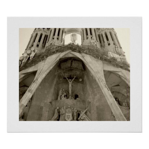 Gaudis Sagrada Familia Poster