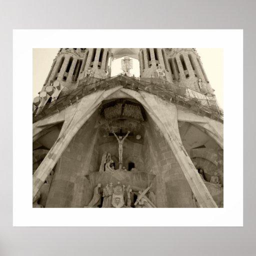 Gaudis Sagrada Familia Posterdruck