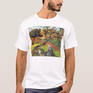 Gauguin; Landschaft mit zwei bretonischen Frauen T-Shirt