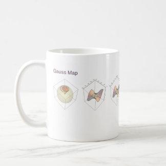 Gauß-Karte Kaffeetasse