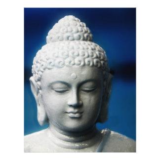 Gautama Buddha erleuchtete ein Flyer