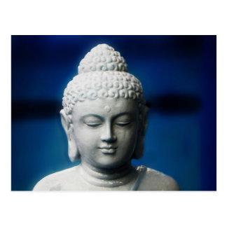 Gautama Buddha erleuchtete ein Postkarte