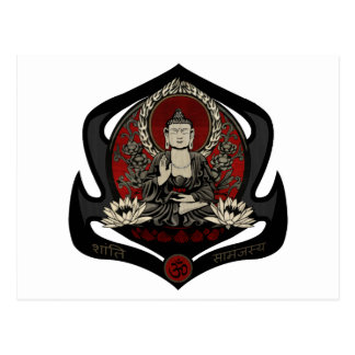 Gautama Buddha Postkarte