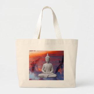 Gautama Siddhartha Buddha Jumbo Stoffbeutel