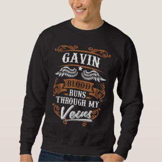 GAVIN-Blut-Läufe durch mein Veius Sweatshirt