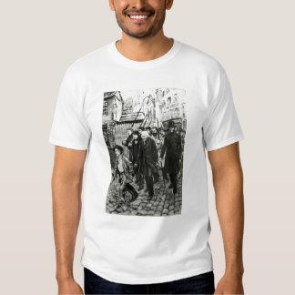 Gavroche, das eine Demonstration führt Hemden