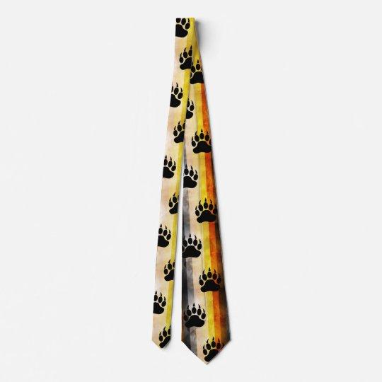 Gay Bear Paw Tie Personalisierte Krawatte