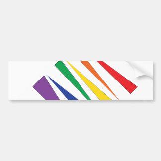 Gay Pride Autoaufkleber