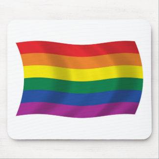 Gay Pride-Bewegungs-Flagge Mousepad