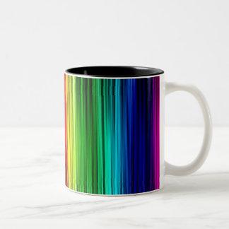 Gay Pride Curtain Zweifarbige Tasse
