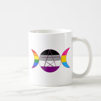 Gay Pride Demi Wannen-Göttin-Symbol Kaffeetasse