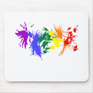 Gay Pride-Farbe Mousepad
