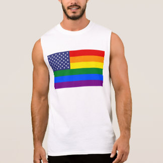 """GAY PRIDE-FLAGGE "" ÄRMELLOSES SHIRT"