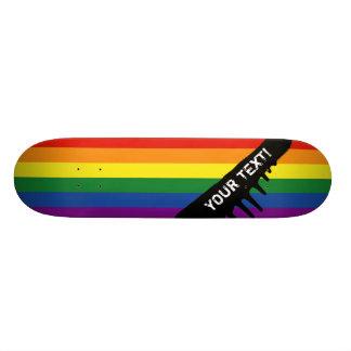 Gay Pride-Flagge Individuelle Skateboards