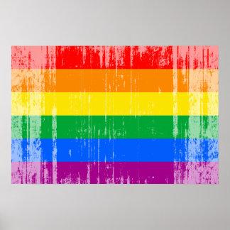 Gay Pride-Flagge Poster