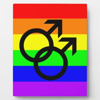 Gay Pride Fotoplatte