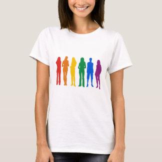Gay Pride für Frauen T-Shirt