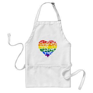 Gay Pride in allen 50 Staaten Schürze