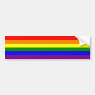 Gay Pride-Regenbogen-Autoaufkleber Autoaufkleber