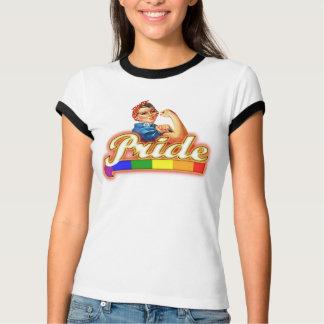Gay Pride-Regenbogen-Flagge können wir sie tun T-Shirt