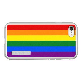 Gay Pride-Regenbogen-Flaggen-Silber iPhone Fall
