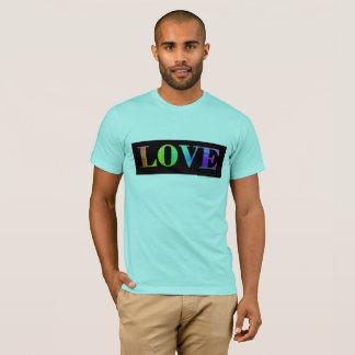Gay Pride-Shirt des Liebe-Regenbogen-LGBT T-Shirt