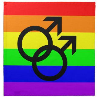 Gay Pride Stoffserviette