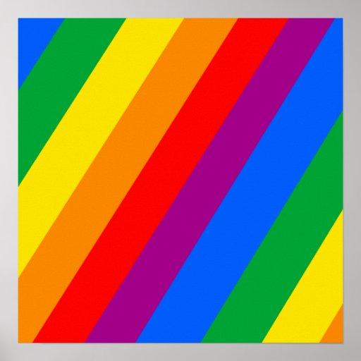 Gay Pride-Streifen Plakate